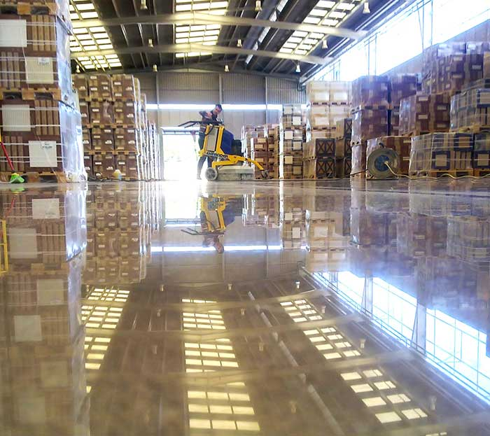 Superconcrete Is A System Created By Klindex That Changes A Standard  Concrete Floor Into A Beautiful, Polished And Easy To Maintain Surface